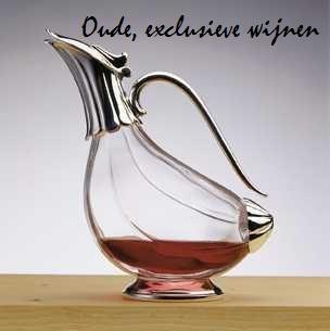 Oude, exclusieve wijnen
